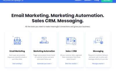 ActiveCampaign, как один из самых лучших сервисов Email маркетинга, завоёвывает популярность в рунете